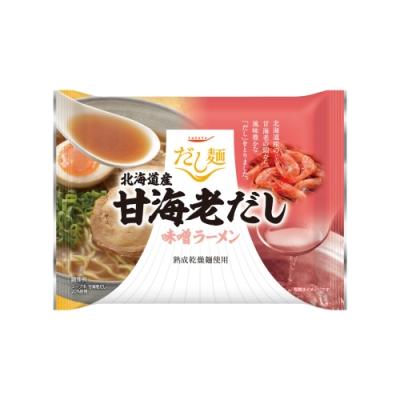 Tabete北海道甜蝦高湯味噌拉麵