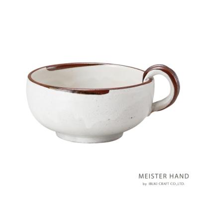 日本 MEISTER HAND EN 湯杯-白