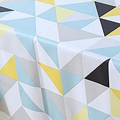 【挪威森林】高級複合材質防水防油汙餐桌墊/桌巾/野餐墊-阿基米德 137*180cm