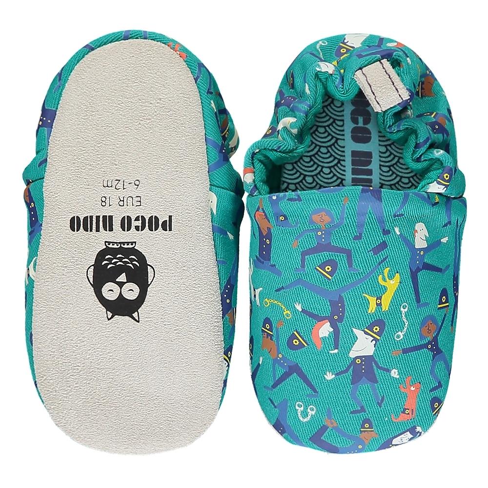 英國 POCONIDO 手工嬰兒鞋 (做瑜珈的波麗士)