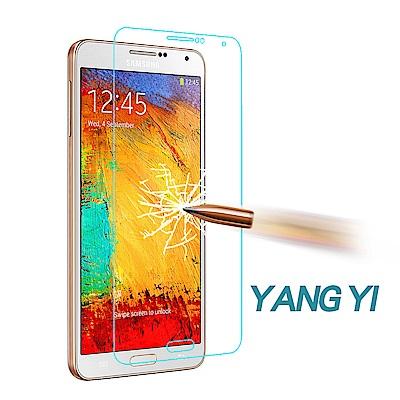 YANG YI 揚邑 Samsung Note 3 防爆防刮防眩弧邊 9H鋼化玻璃保護膜