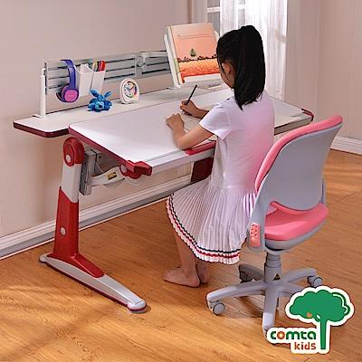 comta kids_DAVINCI達芬奇科學兒童成長學習桌‧幅112cm(紅) W112*D80*H51~76 cm
