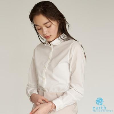 earth music 基本款白領襯衫上衣