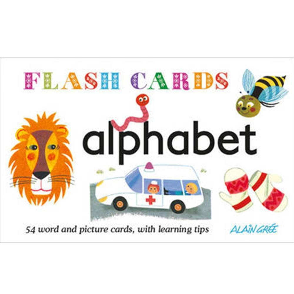 Alphabet Flash Cards 字母學習圖卡