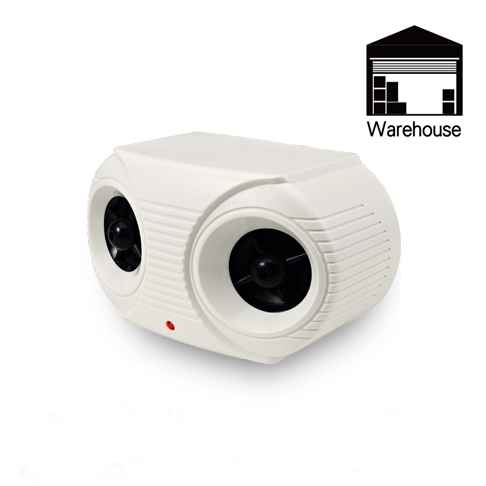 金德恩 台灣製造 室內外營業專用Hipower超音波驅鼠器/蜂鳴片