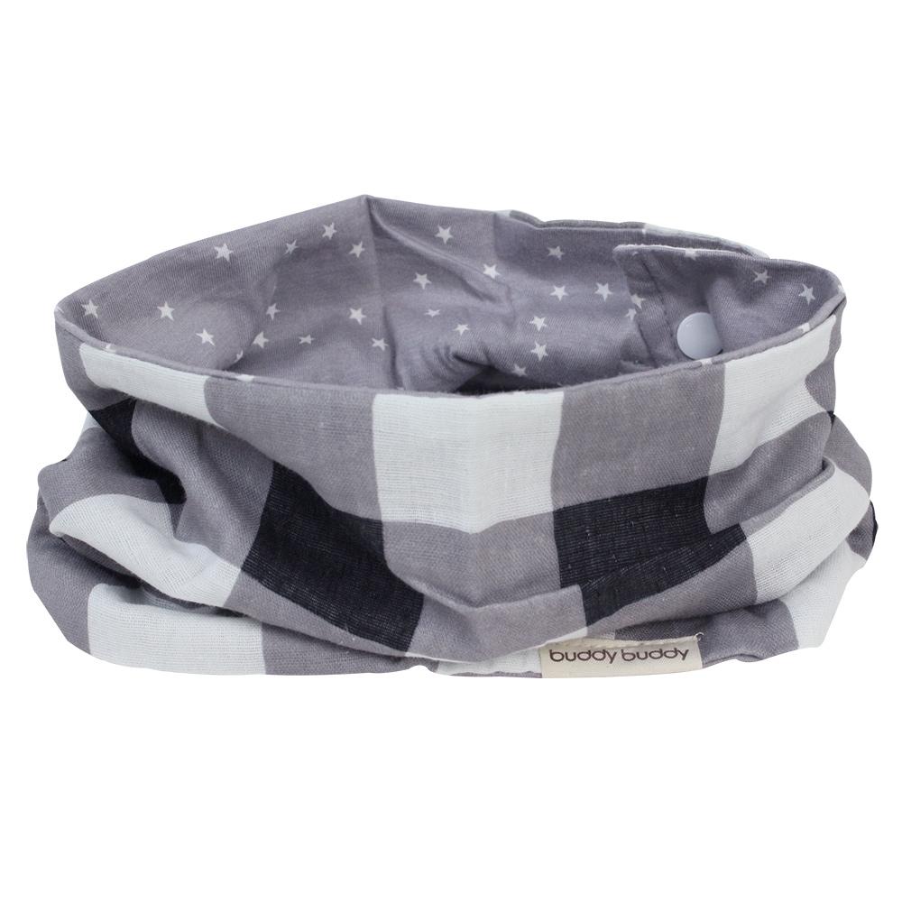 日本 LUCKY 時尚圍巾型雙用圍兜(共2色可任選)
