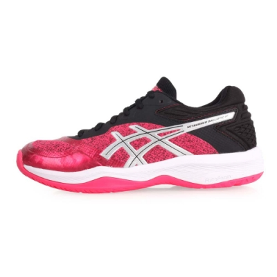 ASICS NETBURNER BALLISTIC 女排羽球鞋- 桃紅黑銀