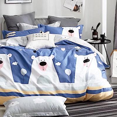 Ania Casa萌動青春 單人三件式 100%精梳棉 台灣製 床包被套純棉三件組