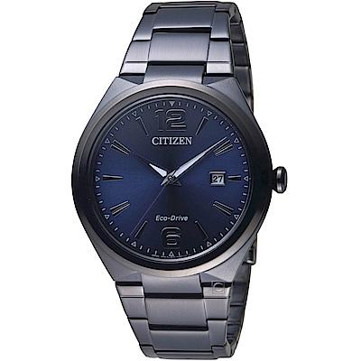星辰CITIZEN都會簡約時尚Eco-Drive腕錶(AW1375-58L)