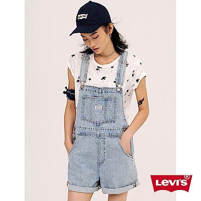 吊帶褲 女款 牛仔短褲 - Levis-動態show