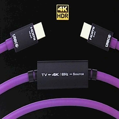 UNICO 雷霆系列 工程版 15米4K HDMI超高清影音傳輸線