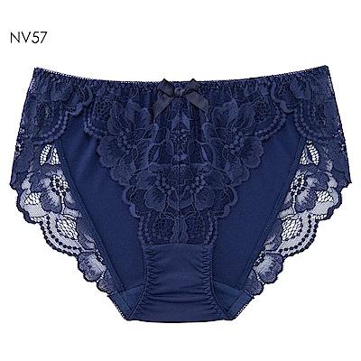 aimerfeel 花卉蕾絲性感內褲-古典藍-603722-NV57