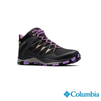 Columbia 哥倫比亞 女款-Outdry防水高筒健走鞋-黑色