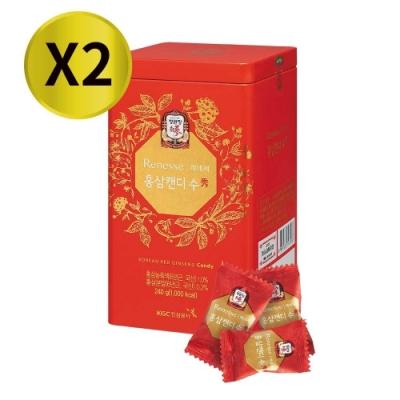 即期出清《正官庄》高麗蔘糖240g x2盒(效期至2020/03/13)