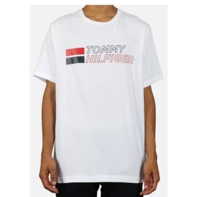 Tommy Hilfiger 復古男版圓領T恤 (白色)