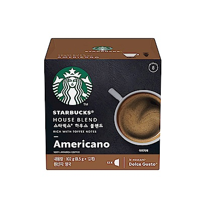 星巴克家常美式咖啡膠囊