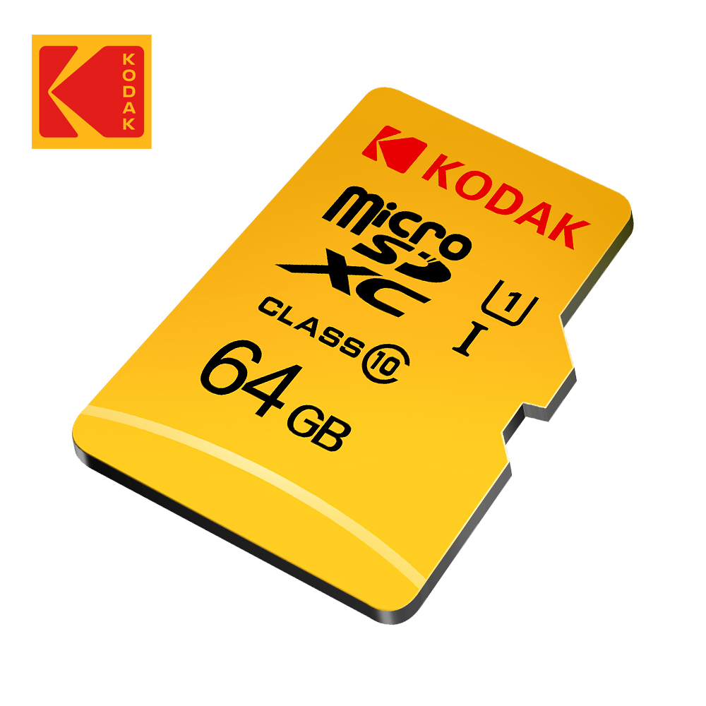 【Kodak】64GB UHS-I U1 MicroSD記憶卡-無附轉卡