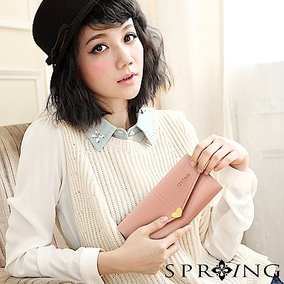 SPRING-怦然心動長夾-甜蜜戀愛粉