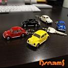 Dreams VW福斯授權LED金龜車鑰匙圈- 黑