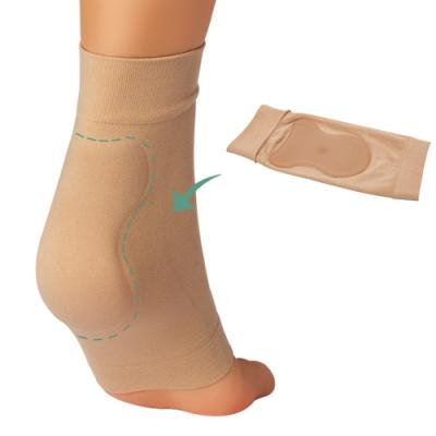JHS杰恆社abe078冰鞋襯墊矽凝膠套保護花樣滑冰騎馬靴的冰鞋咬傷護腳後跟保護套