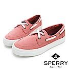 SPERRY CREST BOAT 輕量厚底帆船鞋(女)-紅色