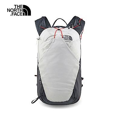 The North Face北面男女款灰色舒適休閒後背包|3GA1AZ5