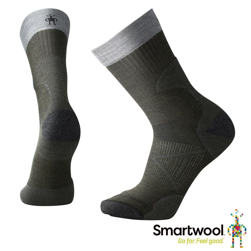 SmartWool PhD Pro Expedition輕量避震中長襪 橄欖綠
