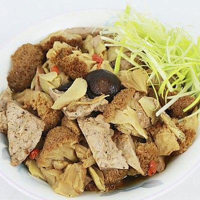 【高興宴】素人上菜-珍寶養生麻油猴頭菇(適合4-6人份)