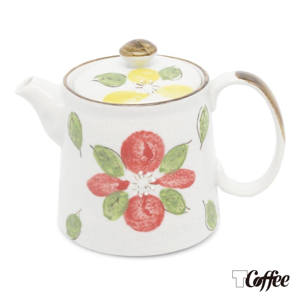 TCoffee MILA-日式手繪咖啡壺 山茶花500ml