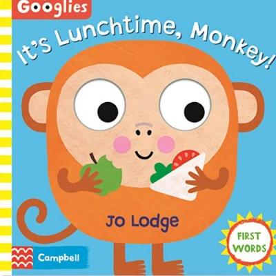 It s Lunchtime, Monkey 猴子的午餐時光操作書