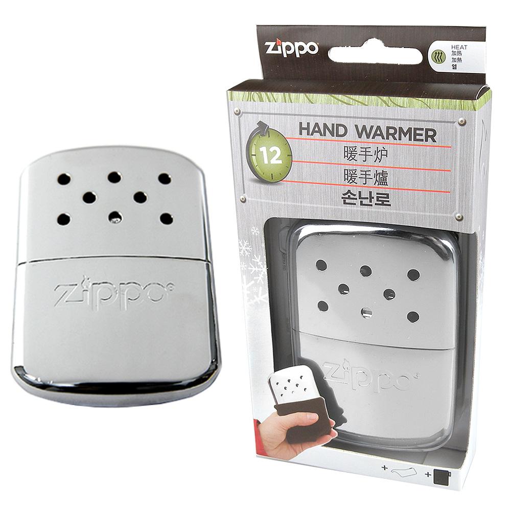 ZIPPO 美版白金懷爐-銀色鍍鉻款