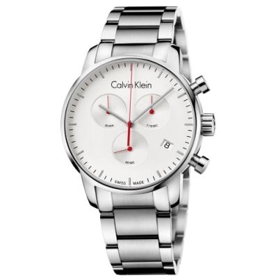 Calvin Klein CK簡單風格計時腕錶(K2G271Z6)43mm