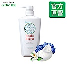 日本獅王LION 肌潤保濕沐浴乳 清新皂氛 500ml