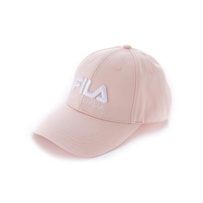 FILA 經典款六片帽-粉 HTU-1001-PK