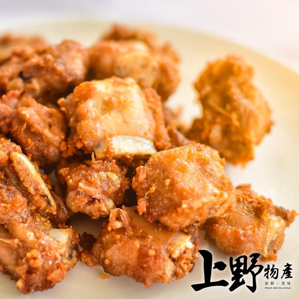 (滿899免運)【上野物產】無骨香酥排骨酥(300g±10%/包)*1包