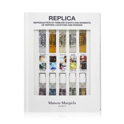 Maison Margiela REPLICA記憶香水禮盒[慵懶週日早晨+爵士+檸檬樹下+花市等]2mlX10-國際航空版