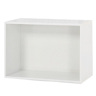 綠活居 阿爾斯環保2.2尺塑鋼開放式書櫃/收納櫃-65.5x31x43.5cm免組