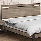 文創集 柏比蒂時尚5尺夜燈雙人床頭片(不含床底)-151.5x12x91cm免組