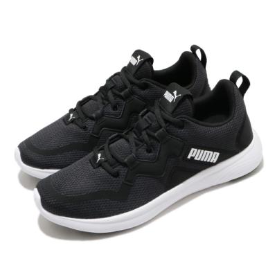Puma 慢跑鞋 Softride Vital 運動 男鞋 輕量 透氣 舒適 避震 路跑 健身 黑 白 19370301