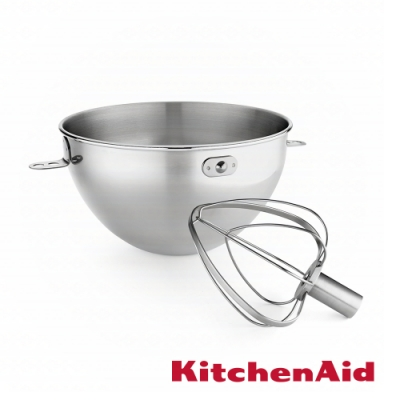 KitchenAid 3Q 攪拌缸打蛋器組-6Q專用
