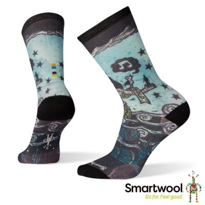SmartWool 女Print系列中長襪-海之女 彩色