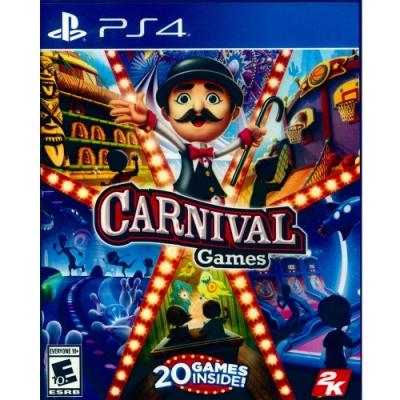 體感嘉年華 Carnival Games - PS4 中英文美版