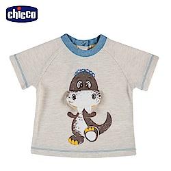 chicco-小恐龍-造型短袖上衣