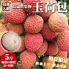 【老張果物】28-32mm大樹玉荷包荔枝1盒(每盒約5斤)