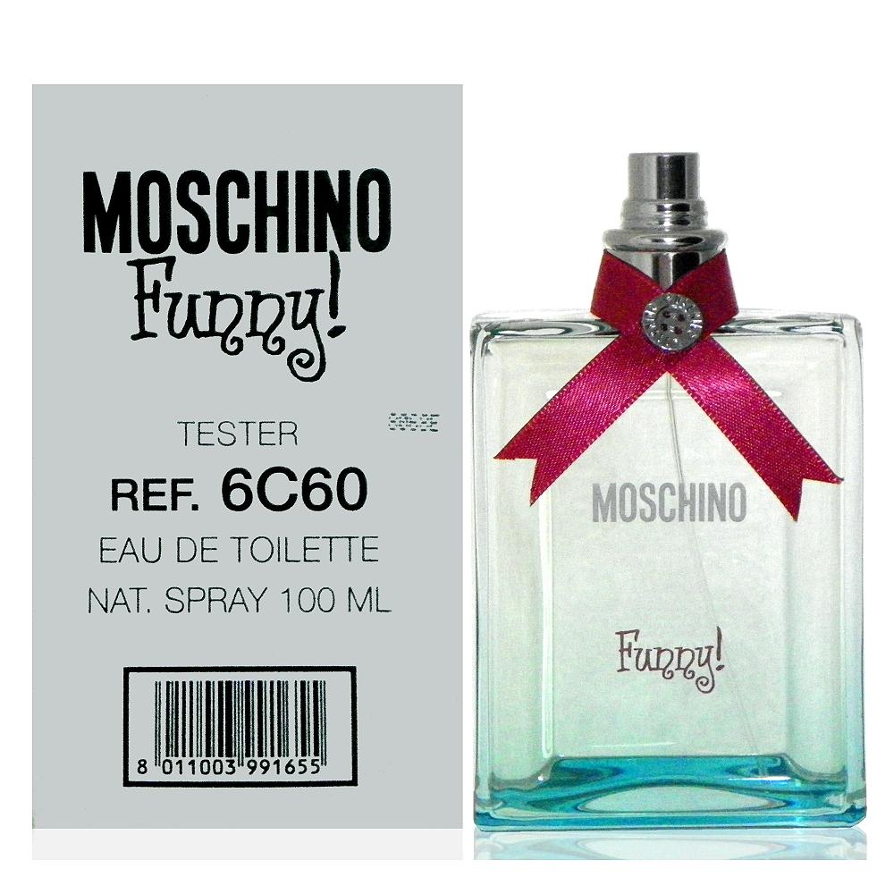 Moschino Funny 愛情趣淡香水 100ml Tester 包裝
