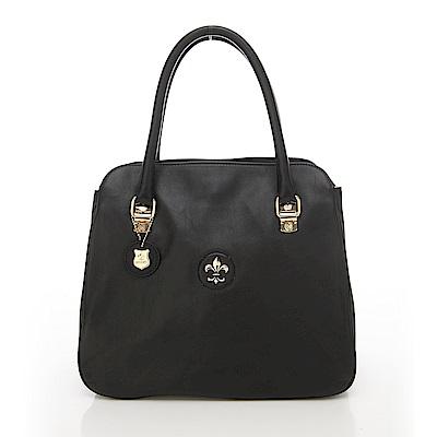 義大利BGILIO軟牛皮肩背包--黑色1472.001-05