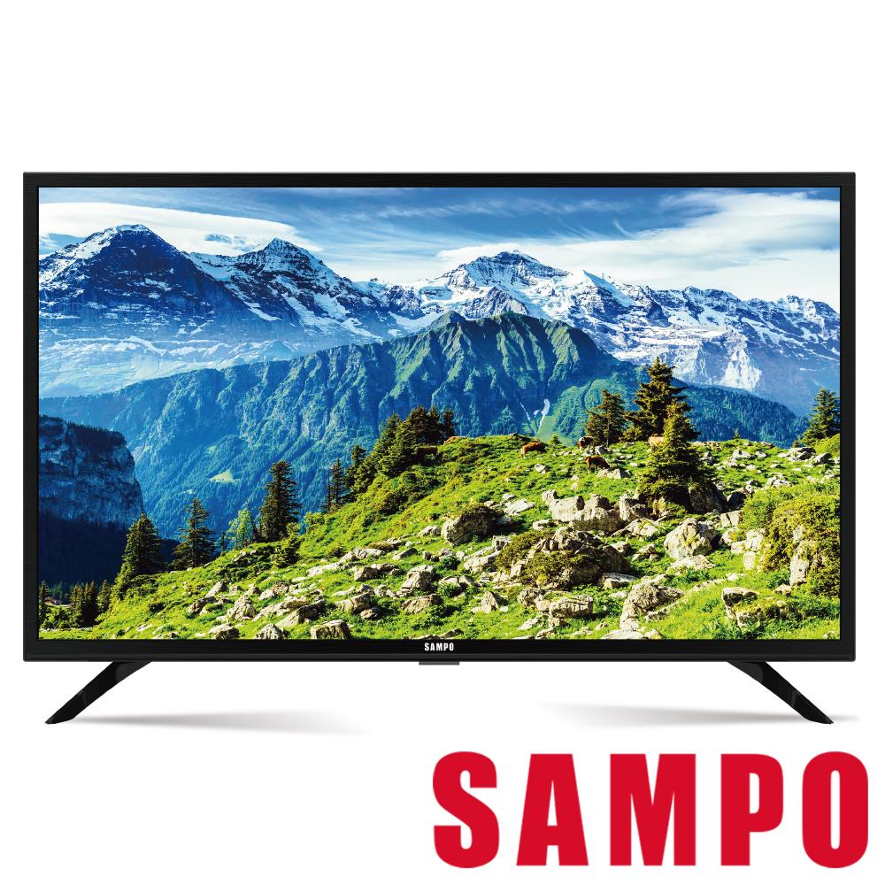 SAMPO 聲寶 32吋低藍光LED顯示器+視訊盒 EM-32A600
