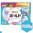 日本P&G Bold 白金花卉皂香洗衣粉 1.5kg