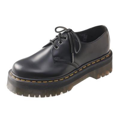 Dr.Martens 1461 QUAD 3孔綁帶厚底鞋*黑色R25567001