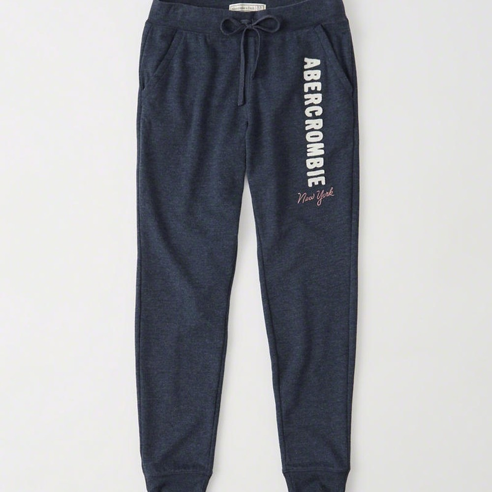 AF a&f Abercrombie & Fitch 長褲 藍色 1049